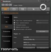 Запись видео с экрана - Bandicam 3.4.2.1258 RePack (& Portable) by KpoJIuK
